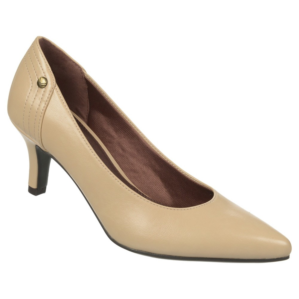 Women's LifeStride Star Pumps - Nude 10W, Beige Nude