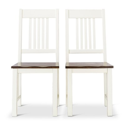 Davern Cottage Dining Chair - Off White (Set of 2)