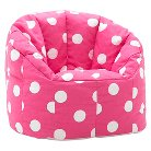 Kids Bean Bag Chair Fun Pink