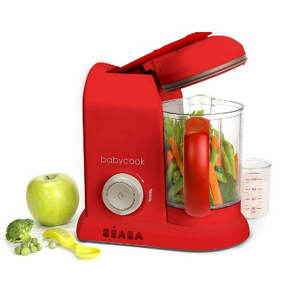 Beaba Babycook Food Blender and Steamer - Red