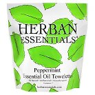 Herban Essentials Peppermint Essential Oil Towelettes - 7 Ct