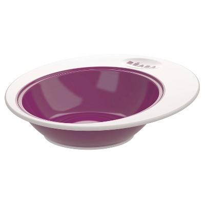 Beaba Baby Deep Ellipse Plate - Purple