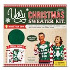 Gender Neutral Pullover Sweaters Ugly Sweater Kit L GRN