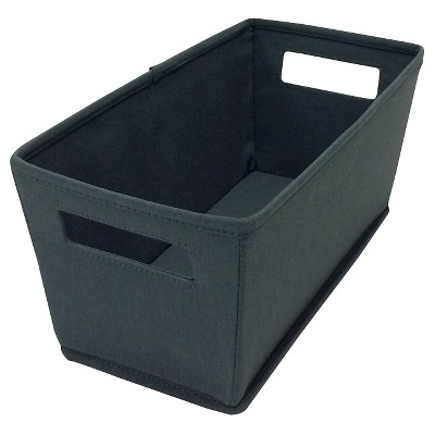 itso  Fabric Quarter Bin - Dark Grey