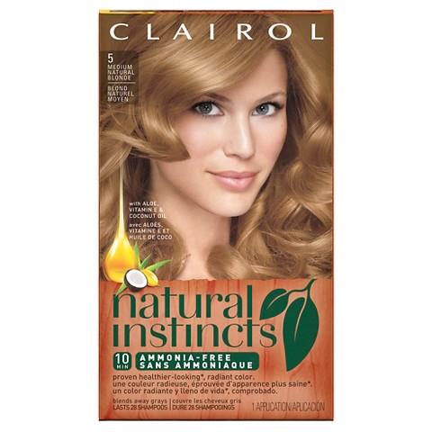 clairol natural instincts hair color 8 5 medium tar