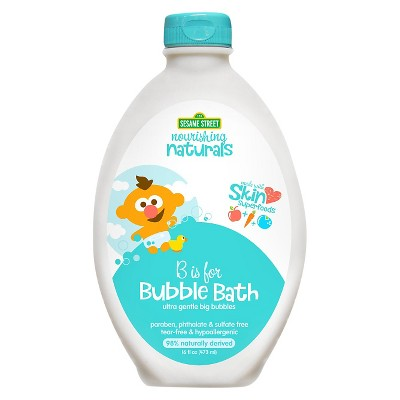 Sesame Street Nourishing Naturals Bubble Bath - 16oz