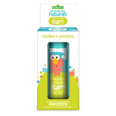Sesame Street Nourishing Naturals Lip & Face Balm - 0.6oz