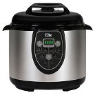 Elite Platinum Stainless Steel 6-Quart Electric Pressure Cooker with 8 Functions