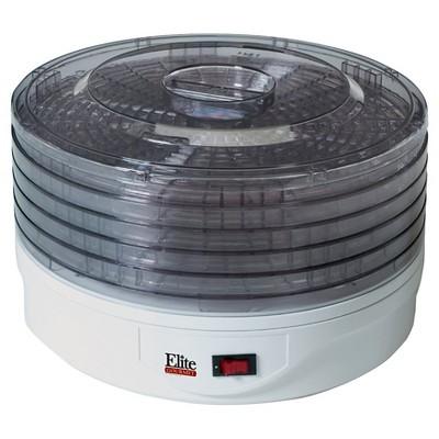 Elite Gourmet 5 Tray Rotating Food Dehydrator EFD-1010