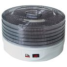 Elite Gourmet 5 Tray Rotating Food Dehydrator EFD-1010