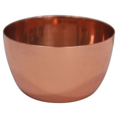 1 Pc Dip Bowls Threshold Copper Stainless Steel