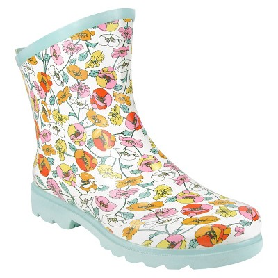 "Threshold™ Floral Ankle Garden Boot - Multi-Colored (10"")"