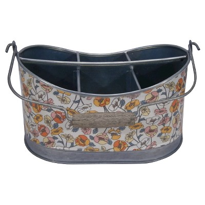 Threshold™ Galvanized Floral Tool Caddy