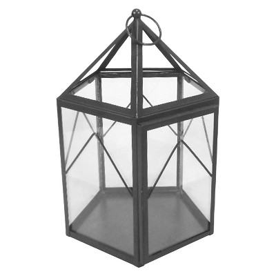 Threshold™ Metal and Glass Terrarium