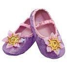 Disney Princess Rapunzel Toddler Slippers Purple