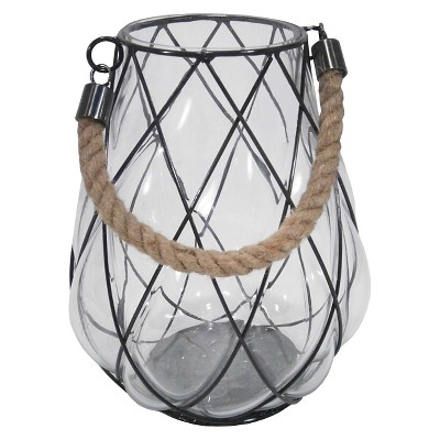 Blown Glass Lantern Medium - Threshold™