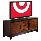 "Abner Media Console Cherry 60"" - Steve Silver Co."