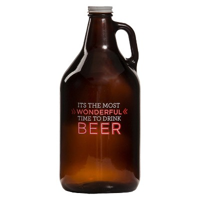 Threshold™ Growler- Most wonderful time to drink beer