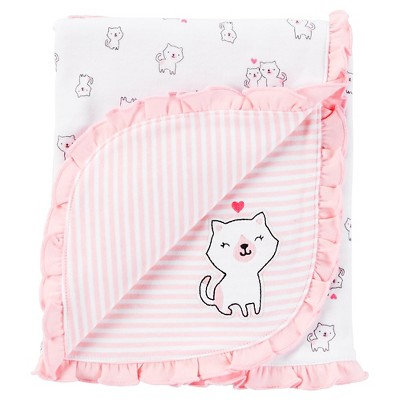 Just One You™Made by Carter's® Newborn Receiving Blanket – Pink