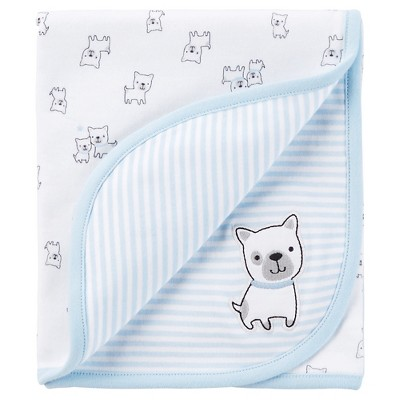 Just One You™Made by Carter's® Newborn Receiving Blanket – Blue
