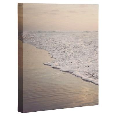 DENY Designs Bree Madden Fading Sea Art Canvas