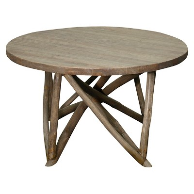Coffee Table Weathered Oak Grey - New Pacific Direct