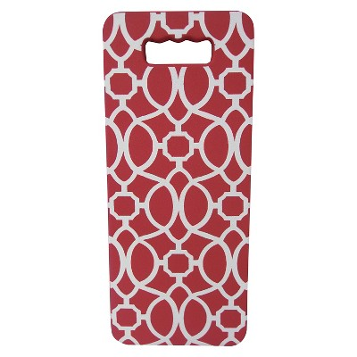 Threshold Red Trellis Garden Kneeler