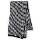 WeSC Men's Stripe Knit Scarf - Blue Iris OS
