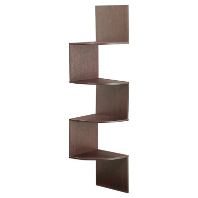 4 Shelf Bookcase Cherry - 4D Concepts
