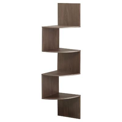 4 Shelf Bookcase Chocolate - 4D Concepts