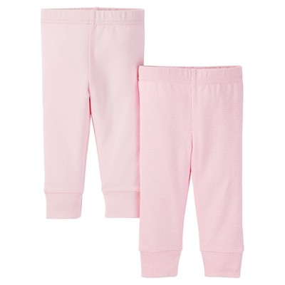Just One You™ Made by Carter's® Baby Girls' 2-Pack Legging Pant - Pink 9 M