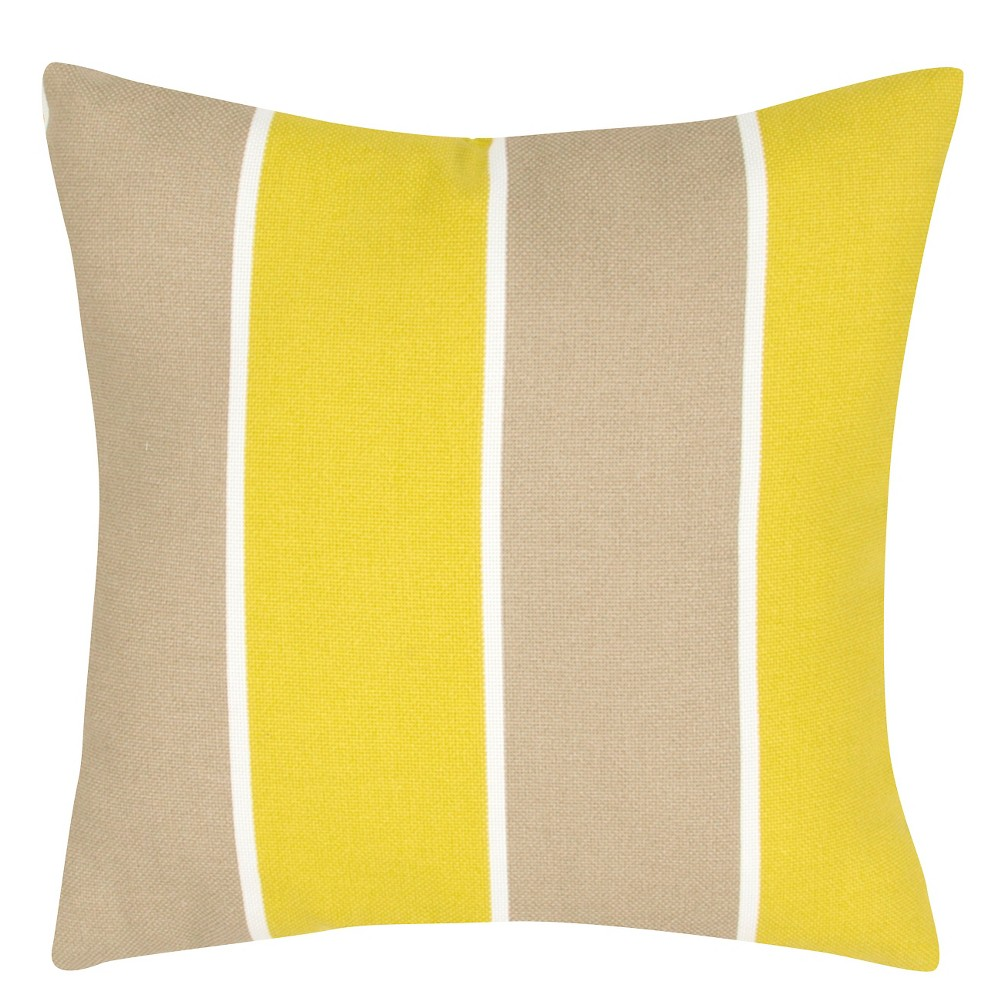 Kohls Yellow Throw Pillow : JAIPUR STRIPE THROW PILLOW (YELLOW)