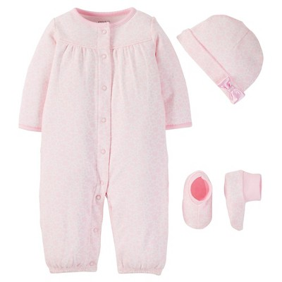 PRECIOUS FIRSTS™Made by Carter's® Baby Girls' Sleep N' Play - Pink 6M
