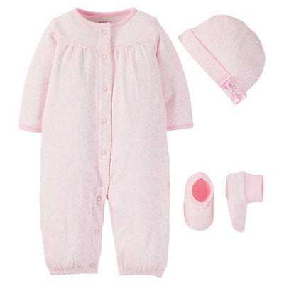 PRECIOUS FIRSTS™Made by Carter's® Baby Girls' Sleep N' Play - Pink 9M