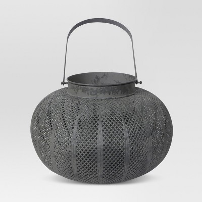 Perforated Orb Lantern Small - Threshold™