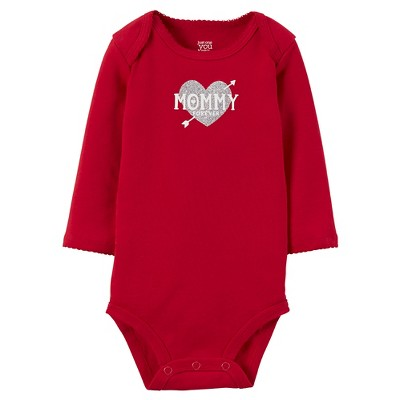 Female Child Bodysuits Just One You Chili Pepper Red 9 M