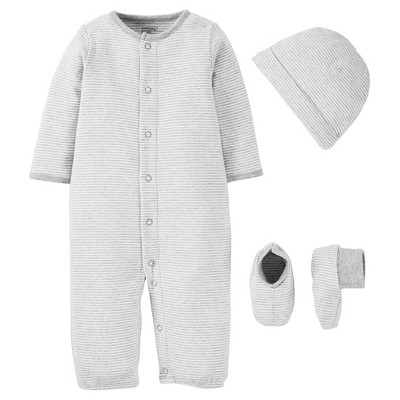 PRECIOUS FIRSTS™Made by Carter's® Baby Sleep N' Play - Grey 3M