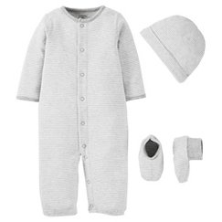 PRECIOUS FIRSTS™Made by Carter's® Baby Sleep N' Play - Grey