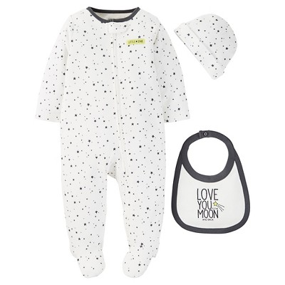 Just One You™ Made by Carter's® Baby Footed Sleeper - Gray 9 M