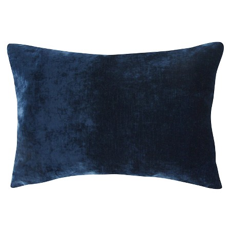 Ecom Decorative Pillow Jaipur Dark Blue : Target