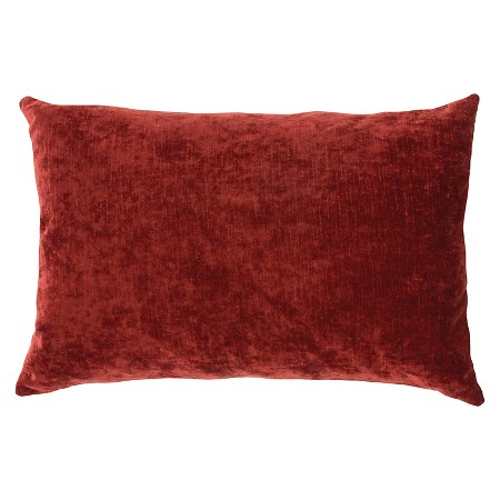 Ecom Decorative Pillow Jaipur Red : Target