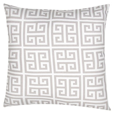 Jaipur Veranda Towers Yellow/Ivory Decorative Pillow
