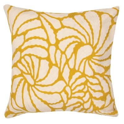 Jaipur En Casa By Luli Sanchez Yellow/Ivory Decorative Pillow