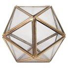 Small Geometric Terrarium - Gold - Threshold™