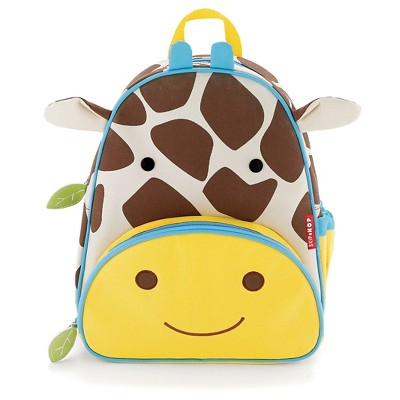 "SkipHop 11"" Zoopack Giraffe Kids Backpack - Yellow"