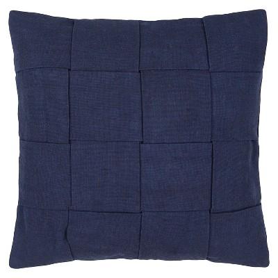 """Tabby Throw Pillow Blue (22""""x22"""") - Jaipur"""