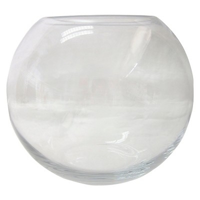 Threshold™ Small Rounded Clear Glass Vessel