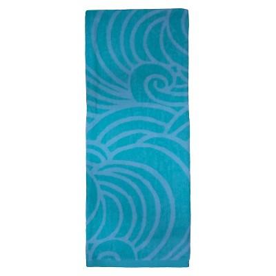 Evergreen Lux Malibu Beach Towel - Mint (XL)