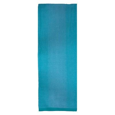 Evergreen Lux Ombre Beach Towel - Mint (XL)