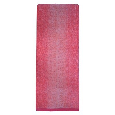 Evergreen Lux Ombre Beach Towel - Pink (XL)